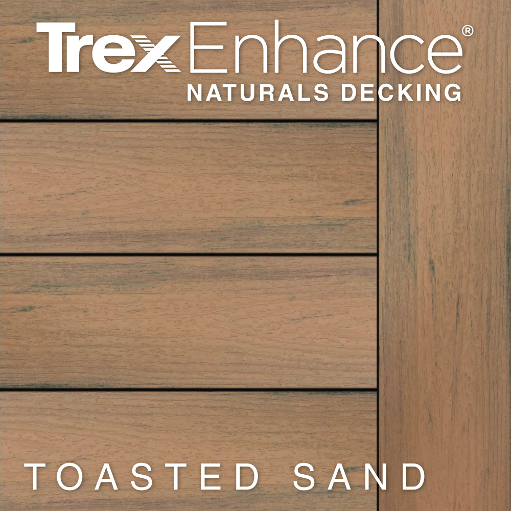 Color Selector Trex Enhance Naturals Toasted Sand Decking