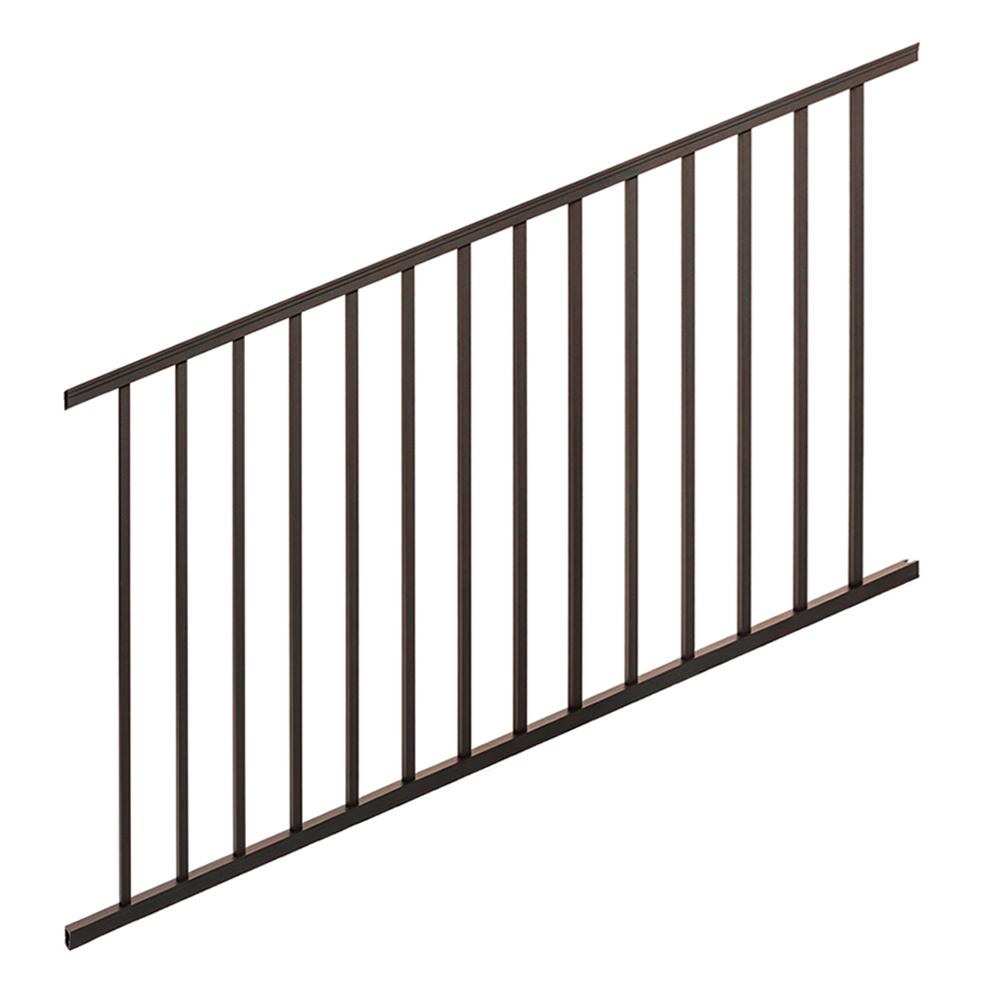 Trex Signature 6' Stair Rail Kit - Bronze
