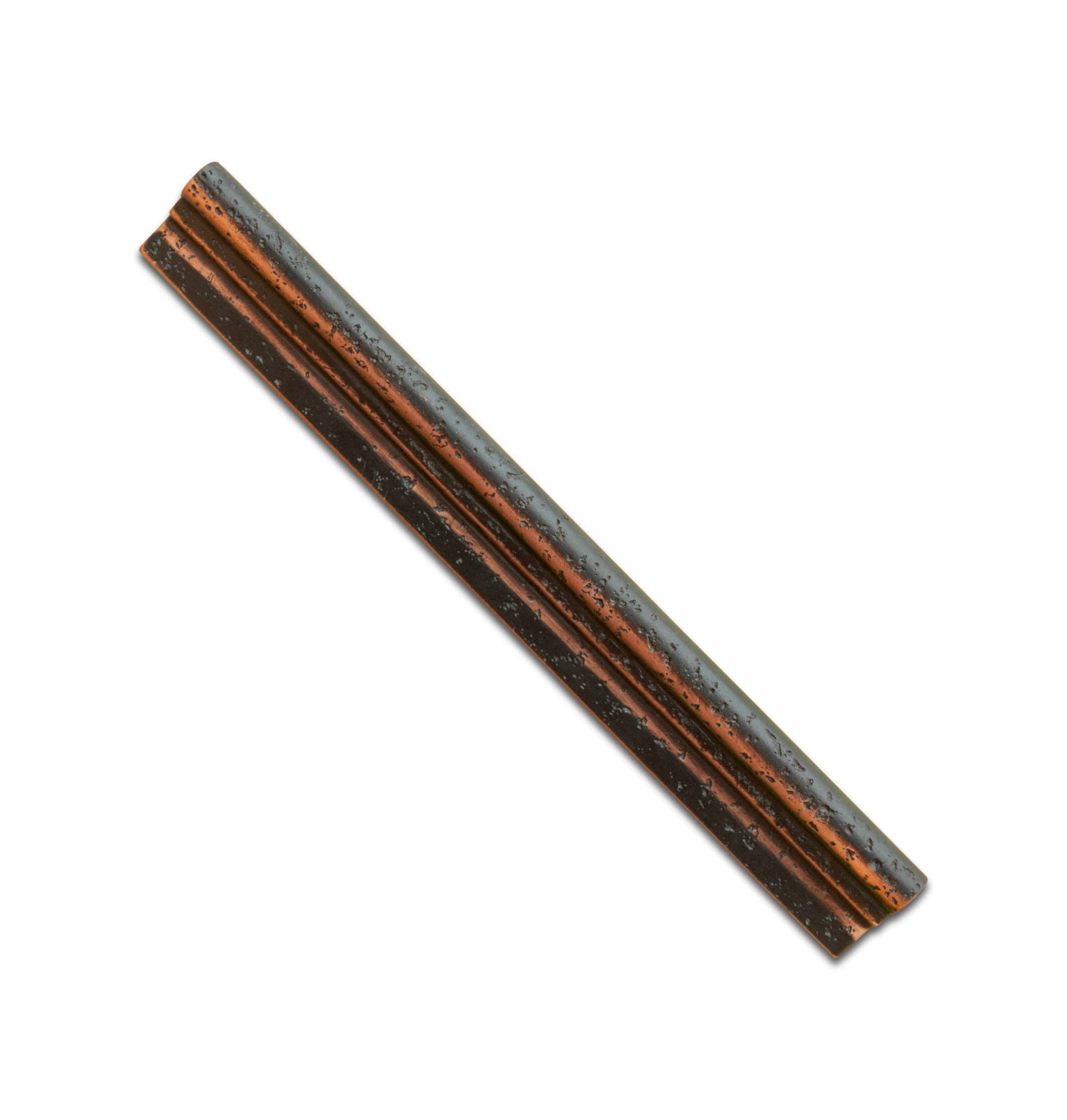 "Marazzi Venetian Bronze Chair Rail 1.5"" X 13"""