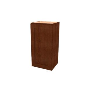 "Jamestown Cherry Lava Wall Cabinet - 18"""