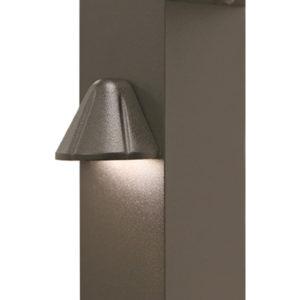 Westbury Railing Tear Drop Side Light - Bronze