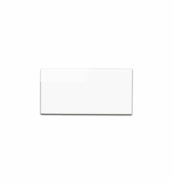 White polished bullnose 3 x 6