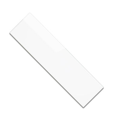 polished white wall bullnose