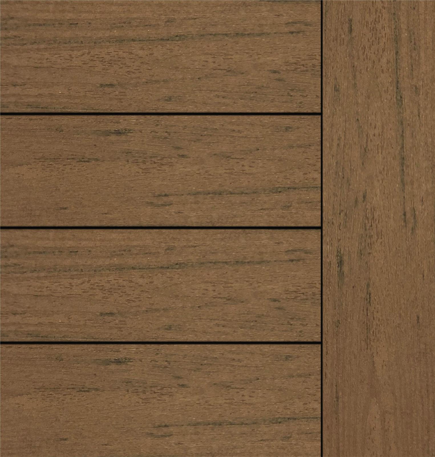 Timbertech Terrain Brown Oak Grooved 12 Schillings