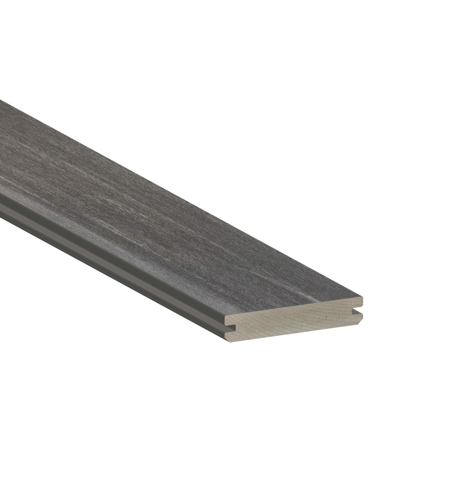 dark hickory board grooved edge