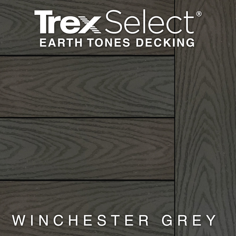 Color Selector Trex Select Earth Tones Winchester Grey Decking
