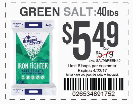 green salt only 5.49