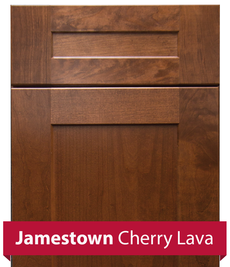 Jamestown Cherry Lava Cabinetry In Stock At Schillings