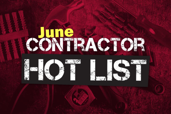 june contractor hot list feature