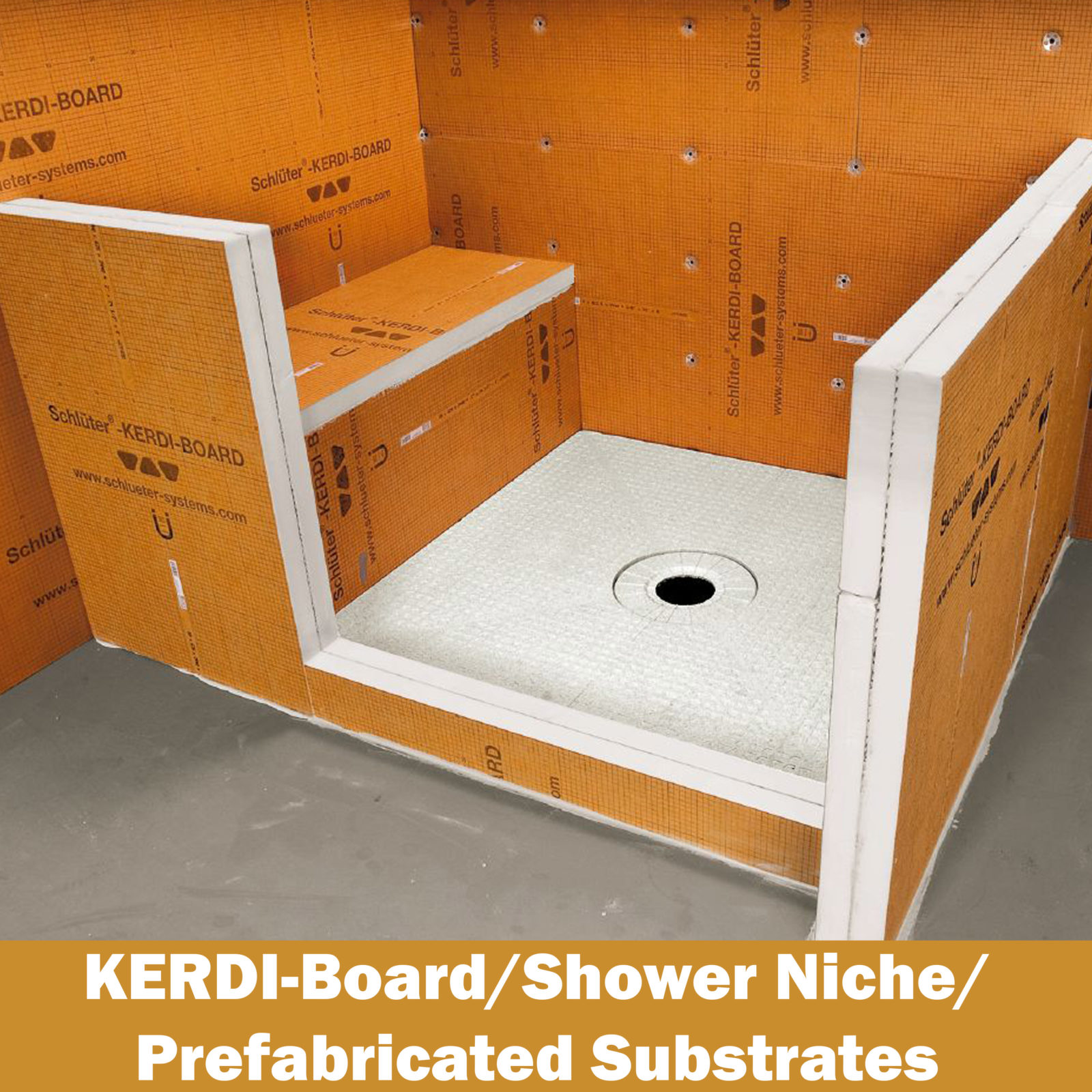 Charmant Shop Schluter Shower Systems And Tile Installation Systems Below