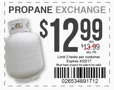 propane exchange 12.99