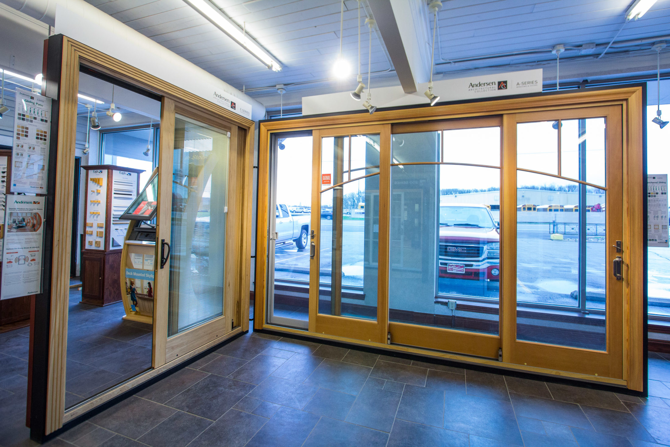 We Have A Full Selection Of Wood, Composite (Fibrex), Vinyl, Aluminum, And  Fiberglass Windows And Door Options To Help Complete Your Project No Matter  What ...