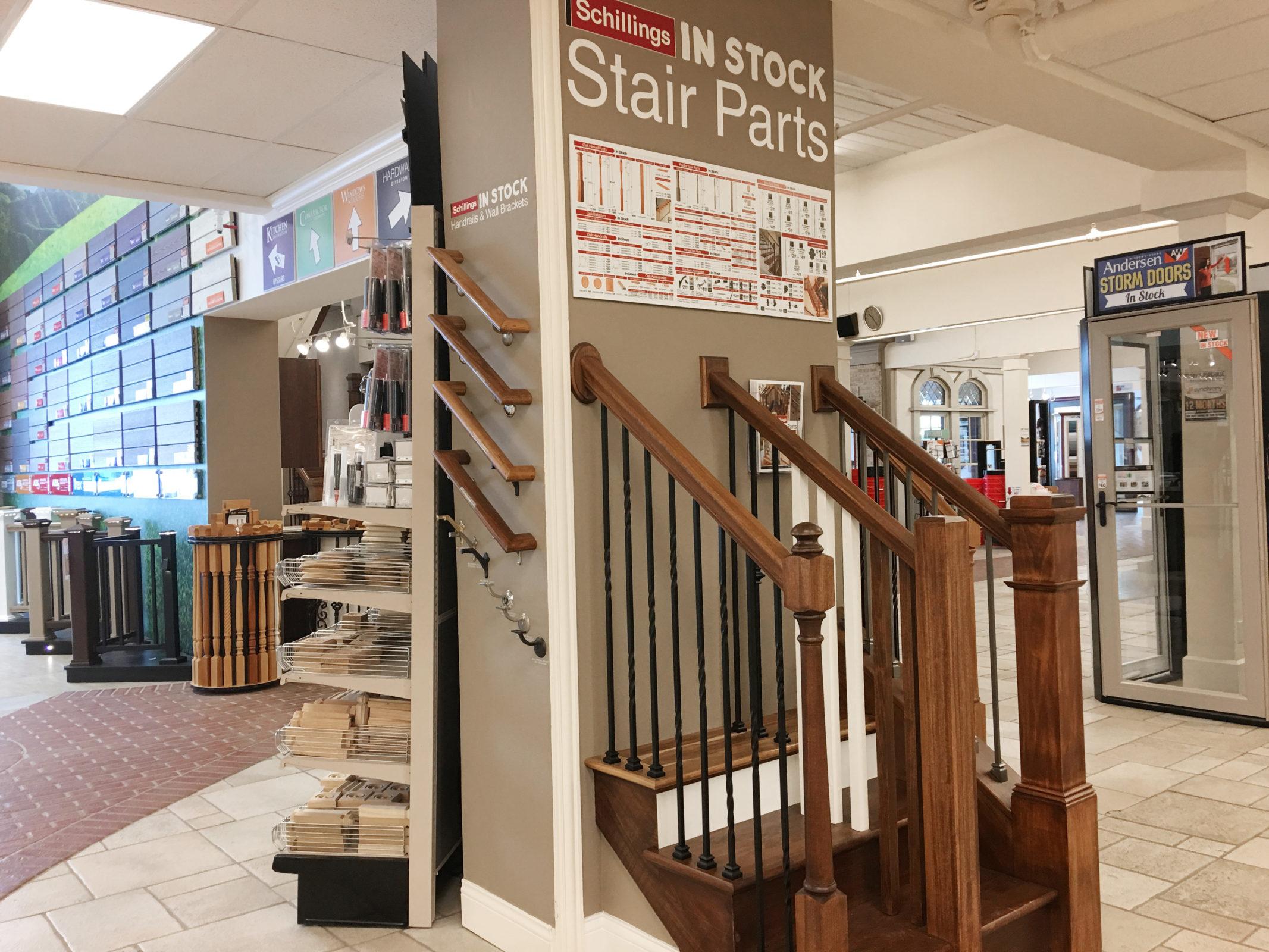 ... Stair Parts Display ...