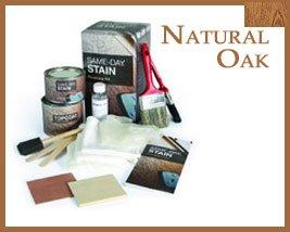therma tru natural oak stain kit