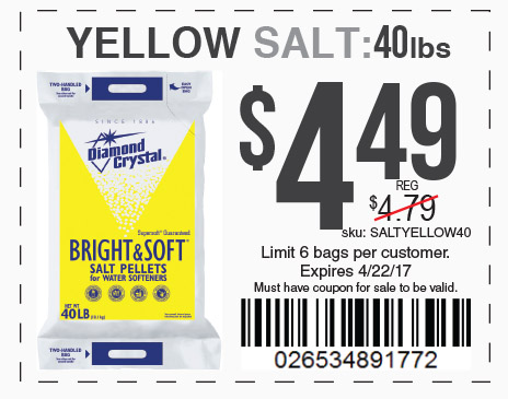 yellow salt only 4.49